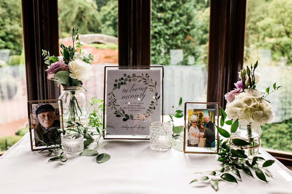 Wedding ceremony personal details
