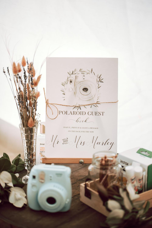 Boho wedding table details