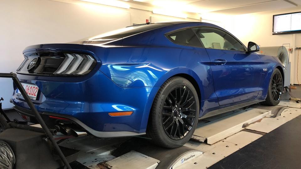 Schropp 2018 Mustang dyno