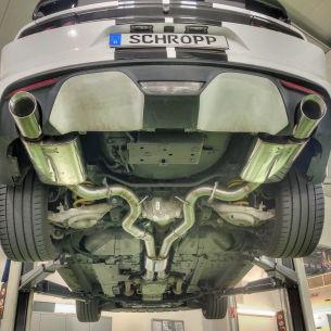 Schropp Mustang V6 Sportauspuff