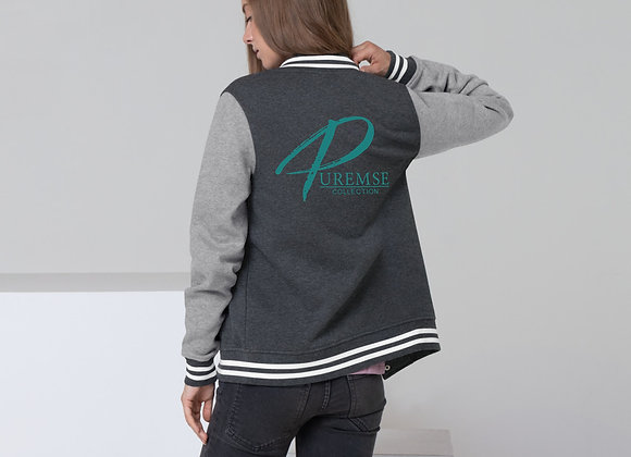 PureMSE Collection Women's Letterman Jacket