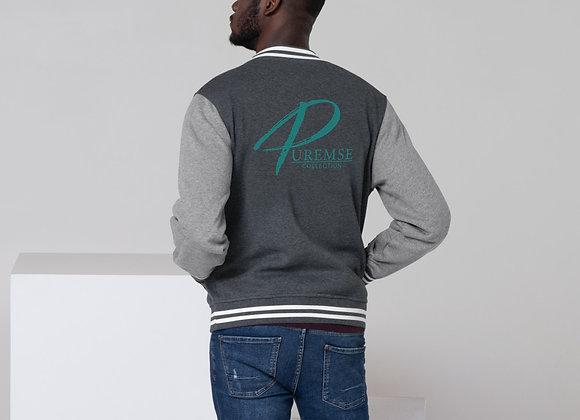 PureMSE Collection Men's Letterman Jacket