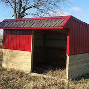 Enclosed Building Front