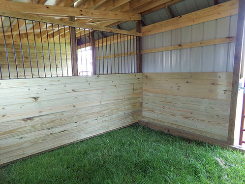 12' Divider Wall with 1/2 Guard