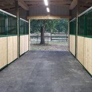 Sliding Horse Stalls