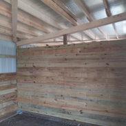 Divider Wall Full Wood Wall