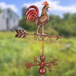Bantam Red Rooster Weathervane.jpg