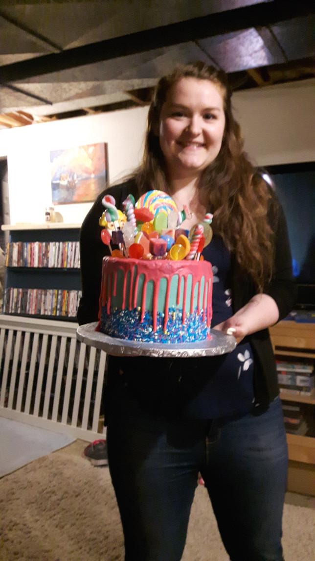 Celebrating Mira's B-day