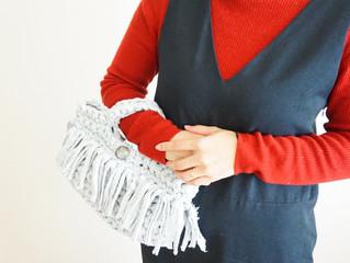編み物教室 ズパゲッティミニトートバック