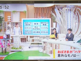東海テレビみんなのニュースOneに♪