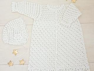 編み物教室 ベビードレス