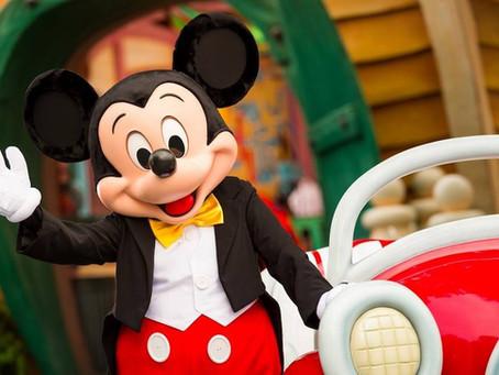 O Mickey está em todos os lugares (inclusive, em nossos corações)