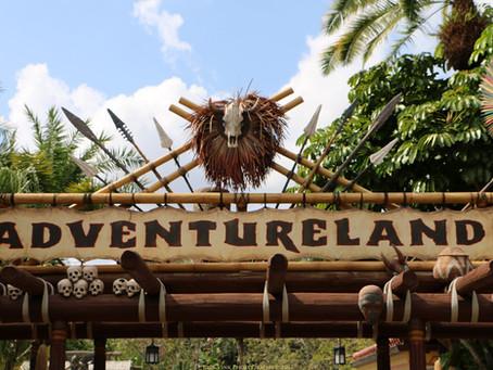 Adventureland: aventura em Magic Kingdom