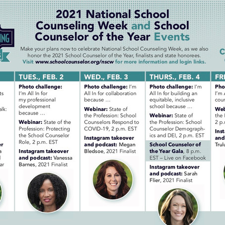 2021 National School Counseling Week