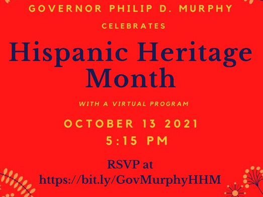 Hispanic Heritage Month Virtual Celebration!