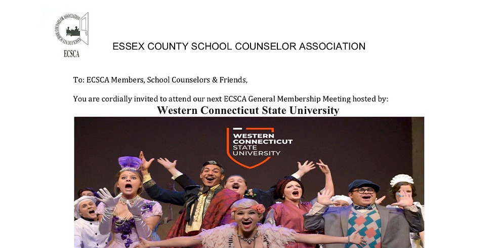 Our Third General Membership Meeting Sponsored By Western Connecticut State University