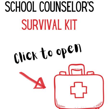 School Counselor Survival Kit