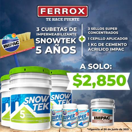 kit Snowtek Ferrox