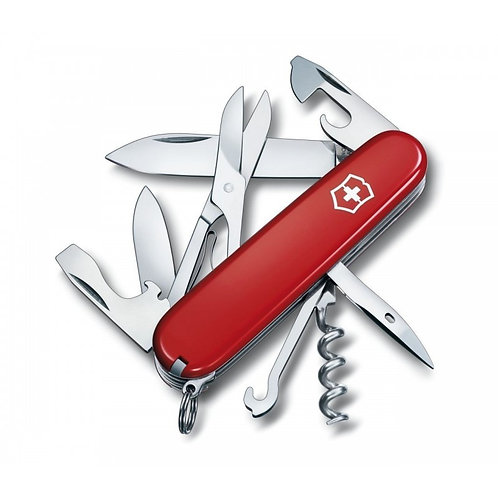 Navaja de bolsillo Climber roja-Victorinox