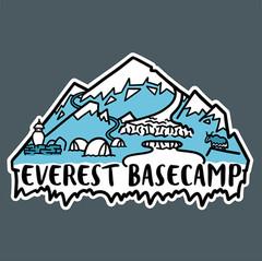 Verest Basecamp - Merch Design