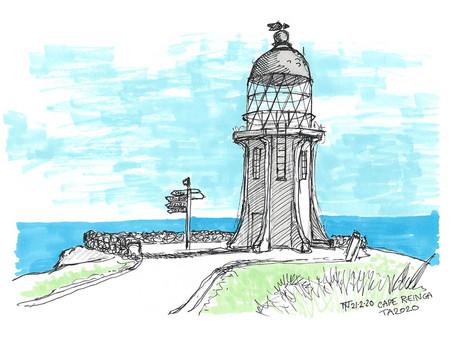 Draw Aotearoa - Sketching a 3000km Bike Tour