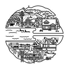 Cambridge & Vancouver Island