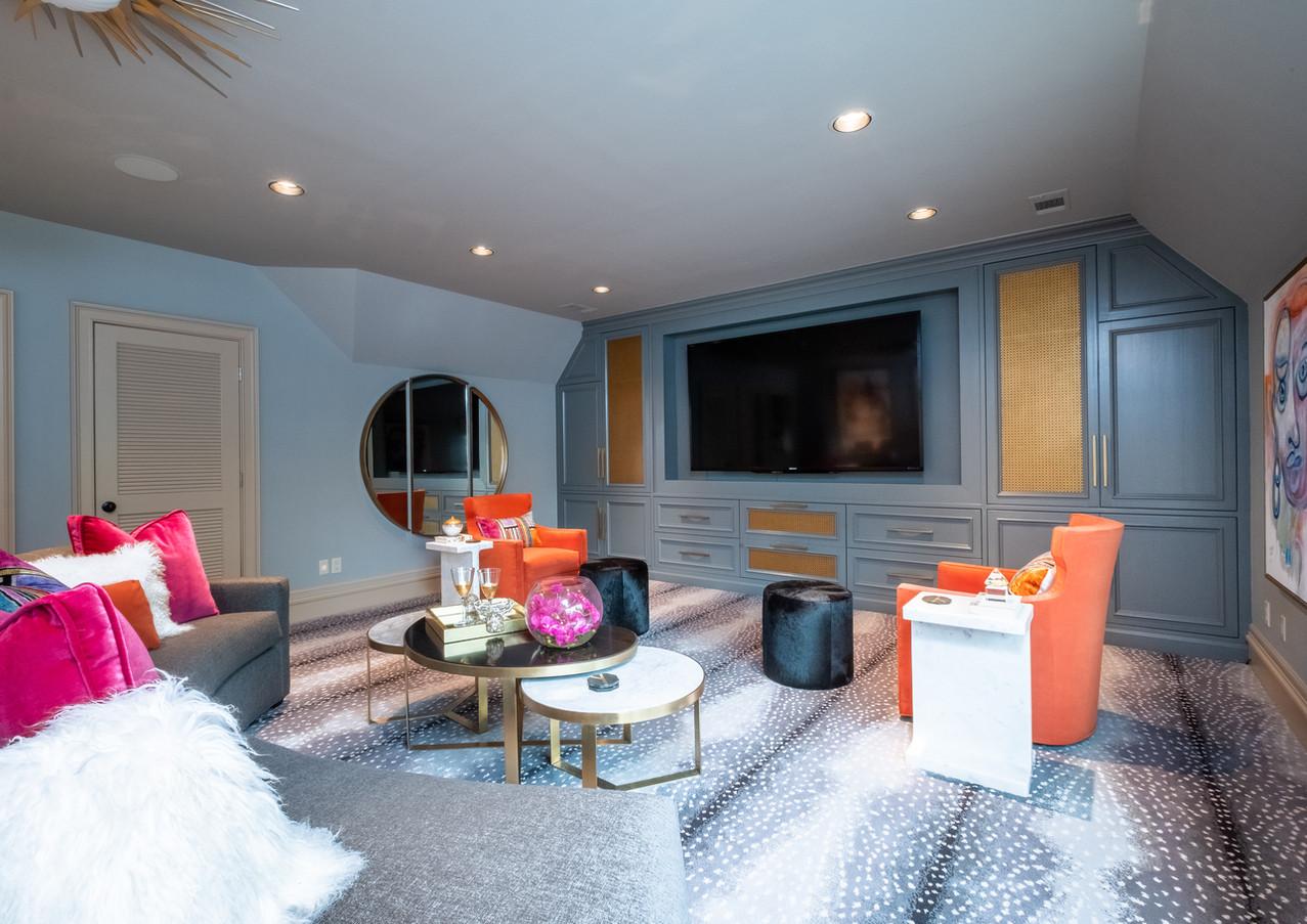 Symphony Designer House 2020 Media Room