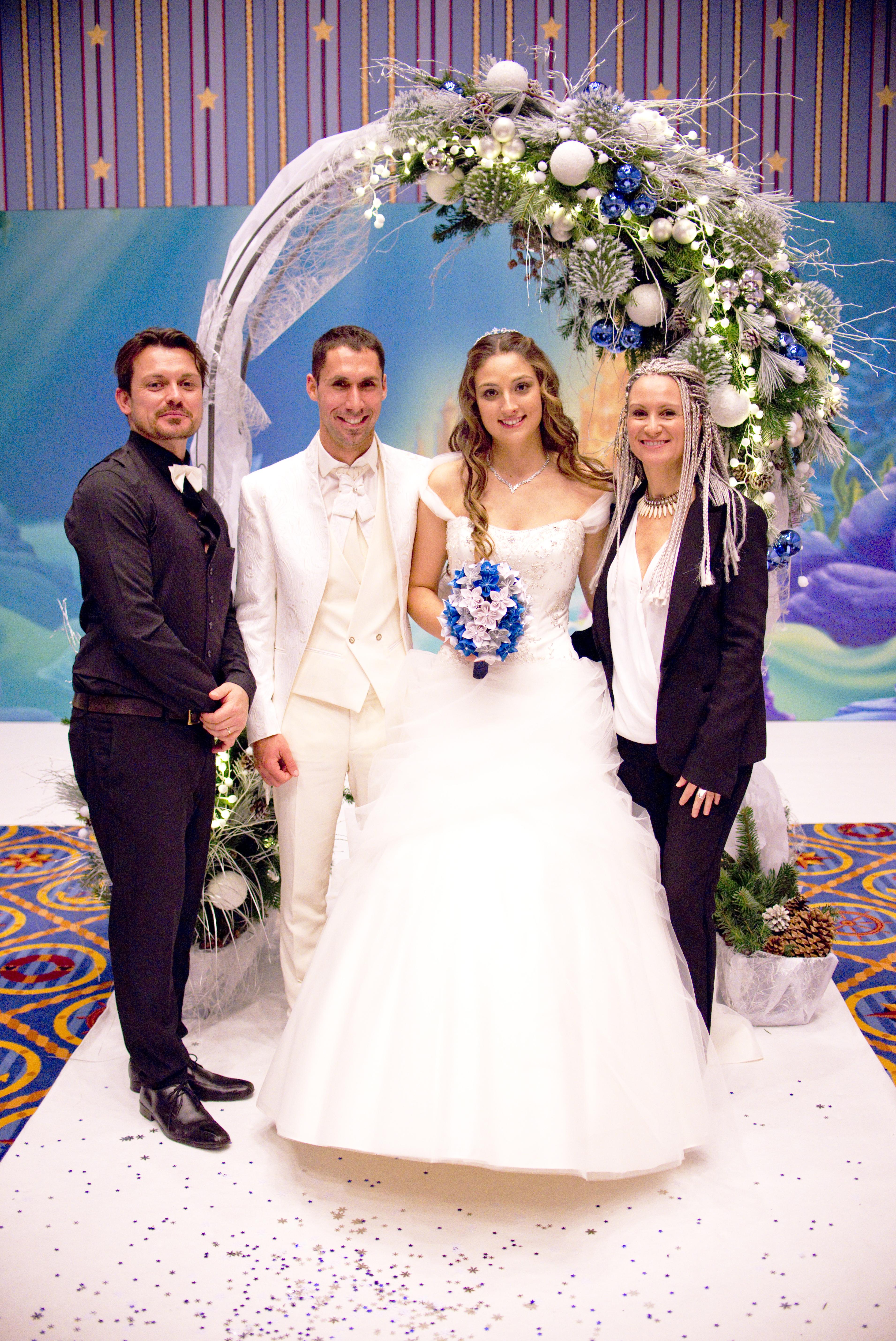 un vrai mariage de comte de fée