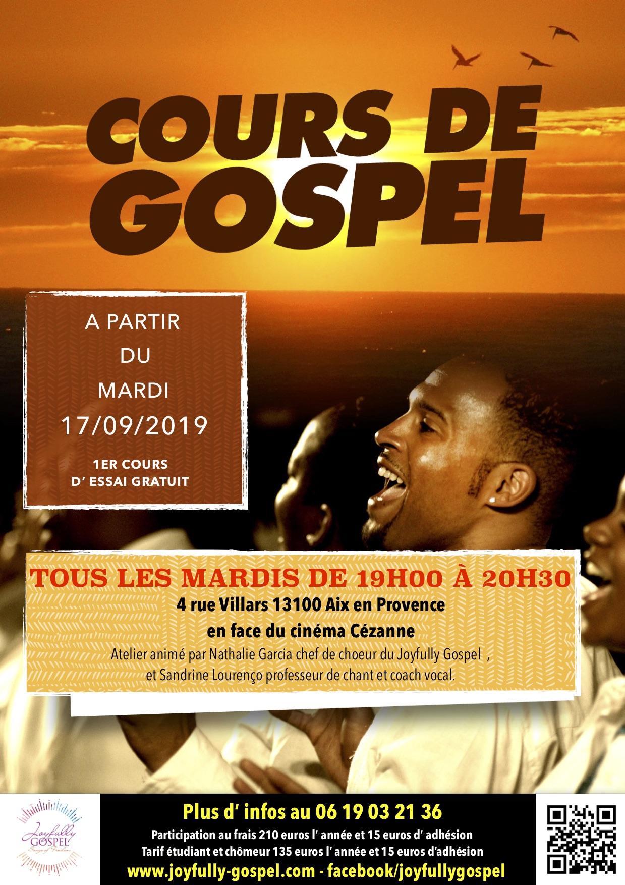 Cours de chant et Gospel
