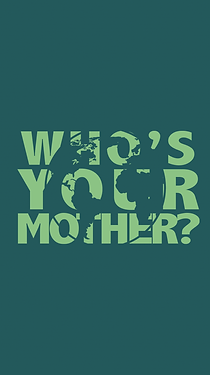Women's Hemp Printed T-Shirt: Who's Your Mother