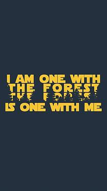 Men's Hemp Printed T-Shirt: Forest