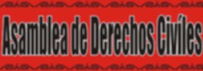 Asamblea de Derechos Civíles Logo