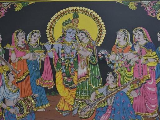Radha in Krishna