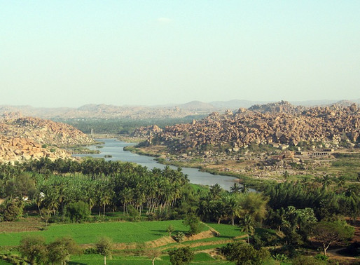 Chivalrous passage to an epical site – Hampi