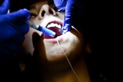 me at dentist
