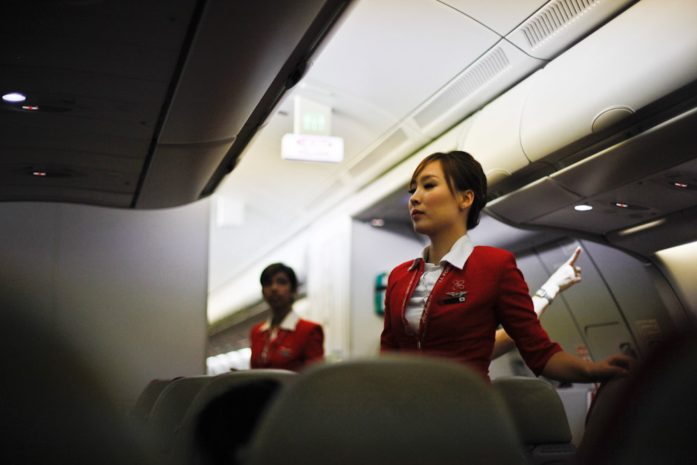 Flight from Tokyo to Hong Kong