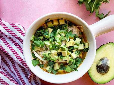 30 Minute Frozen Chicken Tortilla Soup