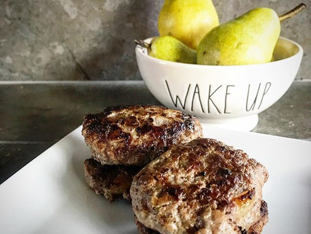 Spiced Pear Breakfast Sausage