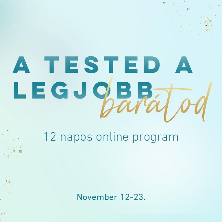 A TESTED & az étel A LEGJOBB BARÁTOD!
