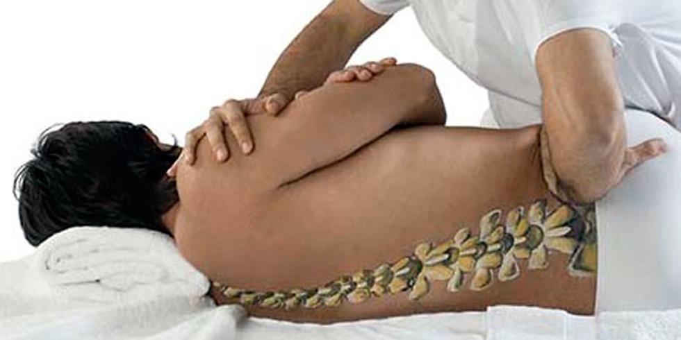 Quiropraxia aplicada a coluna vertebral 25 Janeiro, 01 e 08 de Fevereiro 2019.