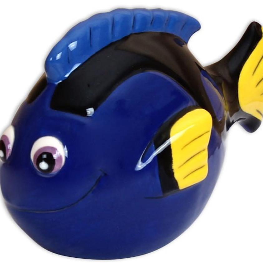 Preschool Social Art Hour- COSMO FISH