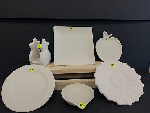 Plate Pottery Package