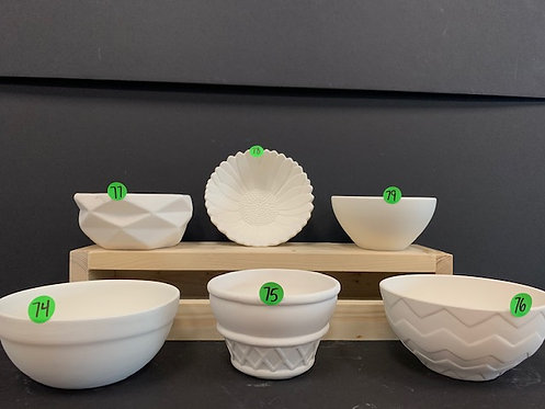 Bowls Pottery Package