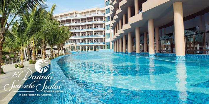 El Dorado Seaside Suites main pool