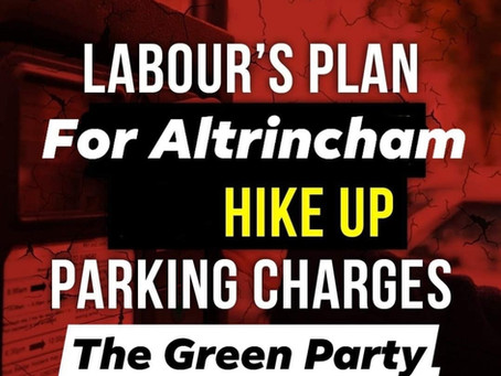 Labour's plan for Altrincham hike up parking charges