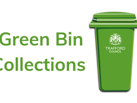 Coronavirus: Green bin collections – fortnightly collections begin 20 AprilStarting Monday 20 April