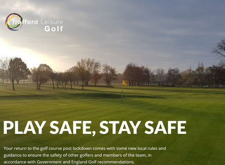 Coronavirus: Altrincham Golf Course to reopen