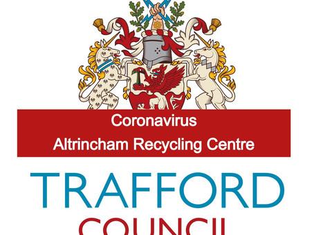 Coronavirus: Altrincham recycling centre set to open