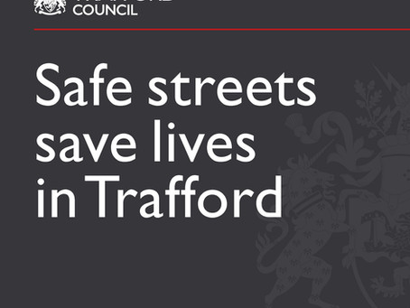 Coronavirus: Safe streets save lives in Trafford