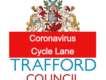 Coronavirus: Temporary cycle lane adjusted to help ease traffic issues